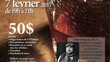 Atelier Découverte – Whisky autour du monde. 7/2/2017
