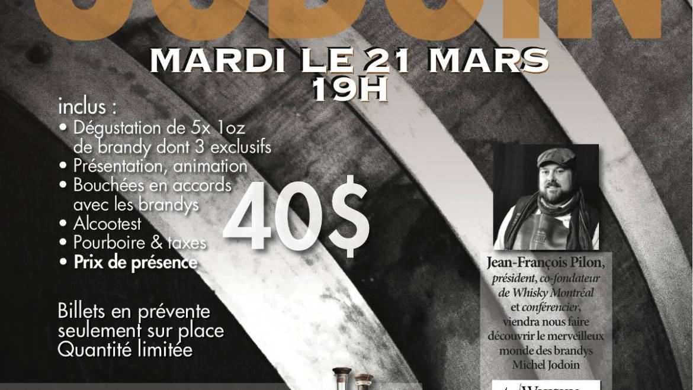 Atelier Découverte – Brandys de Pomme, 21 Mars, 19h